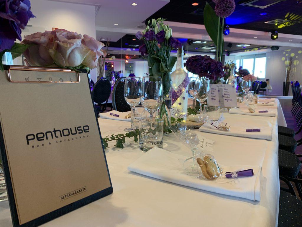 Hochzeit im Penthouse Neustadt - Dekoration