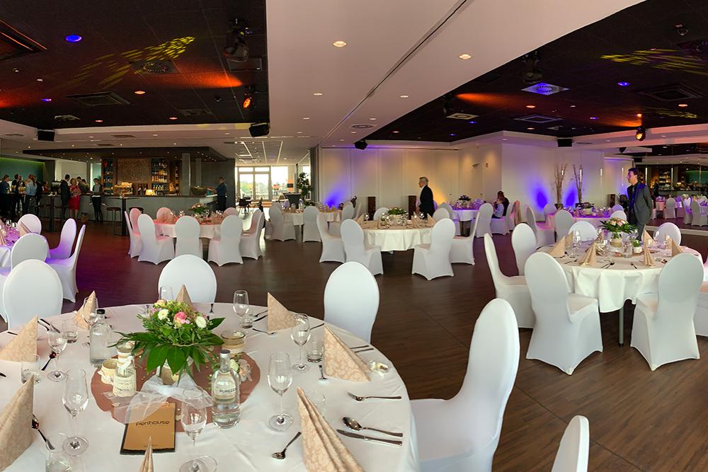 Hochzeit im Penthouse Neustadt - Traumhafter Saal