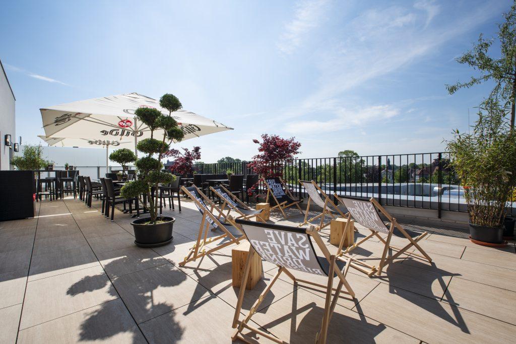 Hochzeit im Penthouse Neustadt - Traumhafte Dachterrasse