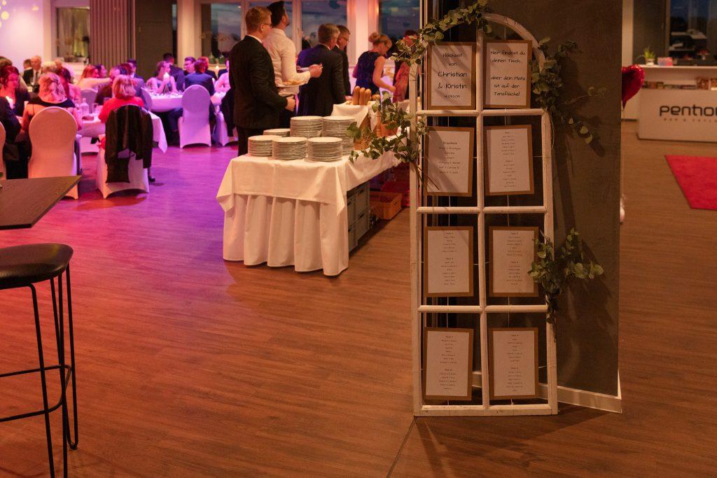 Hochzeit im Penthouse Neustadt - stylische Atmosphäre