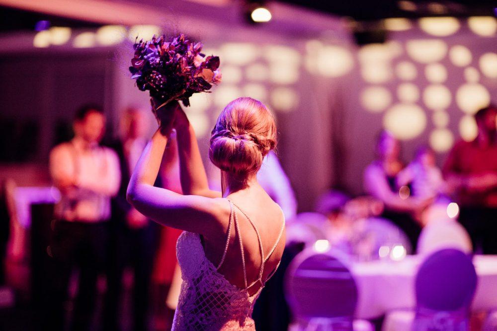 Hochzeit im Penthouse Neustadt - Brautpaar